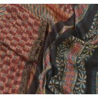 Sanskriti Vintage Dupatta Long Stole Woolen Multicolor Shawl Printed Hijab Veil