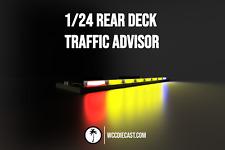 1/24 Multi-Pattern Traffic Advisor Working Lights for Diecast Police Cars