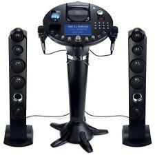 "SINGING MACHINE FRONT LOAD CD+G KARAOKE PLAYER SYSTEM 7"" COLOR SCREEN MIRCOPHONE"
