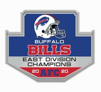 BUFFALO BILLS 2020 EAST DIVISION CHAMPIONS AFC PIN SUPERBOWL SUPER BOWL 55?