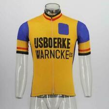 Brand New Retro Team Ijsboerke warnke Cycling Jersey