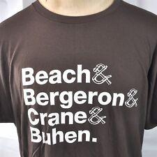 Tiki Bar Icons Beach Bergeron Crane and Buhen Mens T-Shirt XL Cocktail History