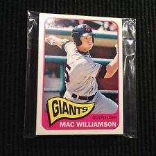 (10) 2014 TOPPS HERITAGE MINOR #177 MAC WILLIAMSON CARD LOT  GIANTS