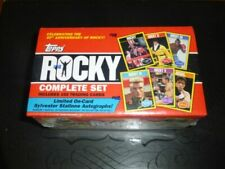 2016 Topps Rocky 40th Anniversary 330 Card Set Factory Sylvester Stallone