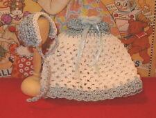 Miniature Dollhouse Dress Boys Victorian Style Gown Handmade Ooak