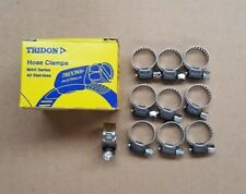 TRIDON WORM DRIVE HOSE CLAMPS Pack of 10 ALL STAINLESS STEEL 6mm to 16mm MAH004