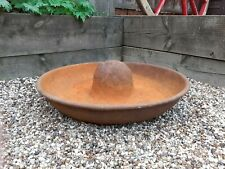More details for vintage globe mexican hat cast iron pig trough/planter