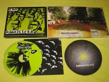 The Distillers Sing Sing Death House & State Champs The Finer Things 2 CD Albums