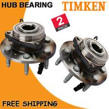 Front Timken (2) Wheel bearing Hub 2007-2013 Chevrolet Avalanche Silverado 1500