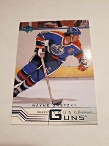 Wayne Gretzky, 2001-02 Upper Deck #424, Young Guns Flashback, Edmonton, NrMt