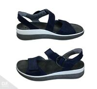 Think! MEGGIE Damen Leder Sandale Slipper Schuhe Slip On Comfort *Made in EU