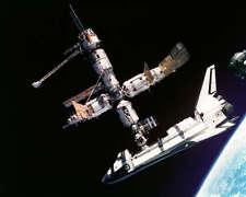 SPACE SHUTTLE ATLANTIS DOCKED TO MIR 8x10 PHOTO NASA