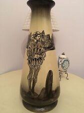 VINTAGE S F & Co Ye Olde English Earthenware Vase 1880-1917