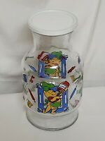 "Disney Winnie The Pooh What's Cooking Pooh Juice/Tea Carafe 9"" Pitcher With Lid"