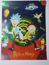 RICK & MORTY GREEN FOIL VARIANT BY DAVE PERILLO ONLY 100