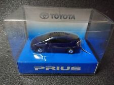 TOYOTA PRIUS  LED Light Keychain Dark Blue Pull Back Mini Car Not sold in stores
