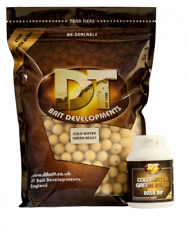 DT Baits Cold Water Green Beast 15mm Frozen Boilies 3kg NEW Carp Fishing Bait