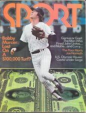 SPORT not Illustrated AUGUST 1973 BOBBY MURCER New York Yankees BASEBALL NoLabel
