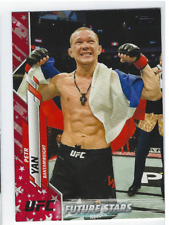 PETR YAN 2020 TOPPS UFC INDEPENDENCE DAY PARALLEL /76