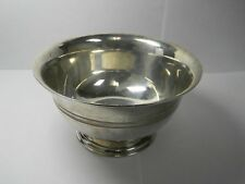 Antique Tiffany & Co .925 Pure Sterling Silver Candy Nut Bowl Dish