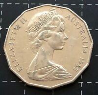 1983 AUSTRALIAN 50 CENT COIN - EF