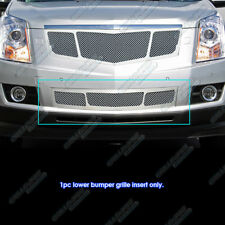 Fits 2010-2012 Cadillac SRX Stainless Steel Mesh Bumper Grille Inserts