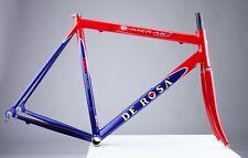 De Rosa Merak Team Alessio 54cm road bike frame set w. carbon fork 2000 vintage