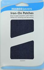 Habee Savers Iron on Patches - Denim 10 X 15cm Each in 2pk