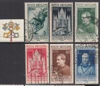 VATICANO 1936 Stampa Cattolica COMPLETE SET used cv 220$++
