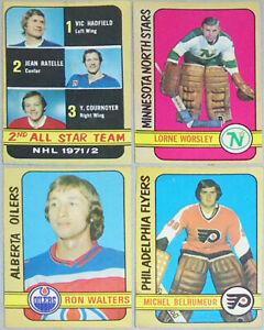 1972-73 -O-Pee-Chee- Vintage OPC NHL Hockey Cards - 1-200 - You Pick/Choose!