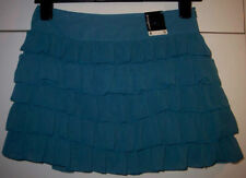 Atmosphere Polyester Party Patternless Skirts for Women