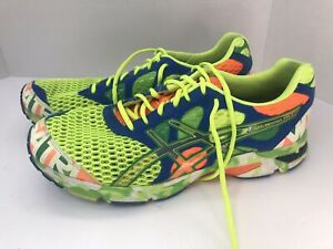 ASICS Mens Gel-Noosa Tri 7 Running Shoes Multicolor T214N Low Top Mesh 10.5 M