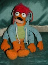 "DISNEY STORE THE MUPPETS LARGE 14"" PEPE KING PRAWN PLUSH BEANIE SOFT TOY (a)"