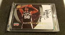 DAVID ROBINSON 07/08 UD EXQUISITE INSCRIPTIONS AUTOGRAPH /25 UPPER DECK AUTO