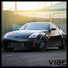 "19"" ROHANA RC10 BLACK CONCAVE WHEELS RIMS FITS NISSAN 350Z 370Z"