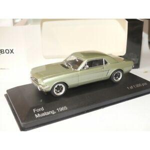 FORD MUSTANG 1965 Vert WHITEBOX 1:43 roue modifié, pneu slick