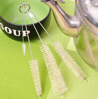 4pcs Bottle Cleaning Brushes Kitchen Kettle Spout Teapot Nozzle Clean Brush Set
