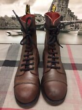 Dr Martens 10 eyelet boots UK 6 Made in England