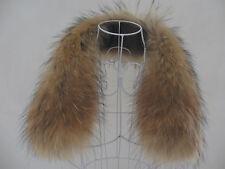 Kragen Pelzkragen Pelz Fell Echtpelz Raccoon passt zu Jacken Mantel NEU