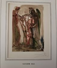 Hand Signed Salvador Dali The Divine Comedy