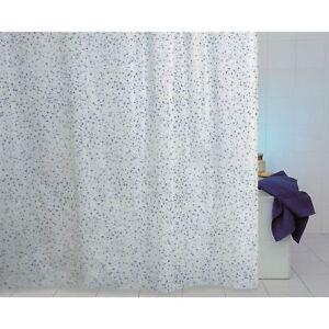 Aqa Vorhang X Dusche IN Vinyl Mit Haken Inkl Verschiedene Maße Peva Modell Drops