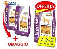 Monge Gemon Maxi Puppy & Junior Pollo 15 kg - 1 / 2 / 3 sacchi crocchette x cane