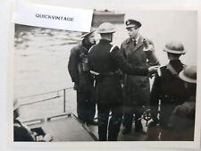 WW2 London Blitz Real Original Photograph Prince George Duke of Kent Visit NFS
