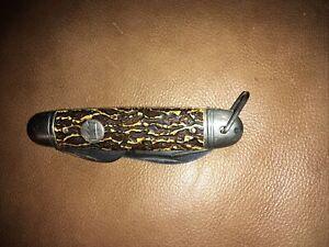 """VINTAGE IMPERIAL PROV. R.I. USA 3-1/2"""" 1 blade pocket jack knife P 2391732"""