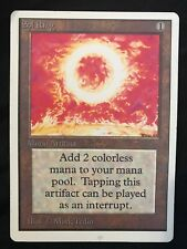X1 Sol Ring Unlimited (played) Mtg - Commander - Old School - Artifact