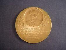 MEDAILLE Bronze Doré  S B M de MONACO  signée Szirmaï