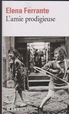 L'AMIE PRODIGIEUSE tome 1 Elena Ferrante roman livre