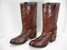 CORRAL VINTAGE C1186 LEATHER HARNESS STUDS WESTERN COWBOY BOOTS WOMEN'S 9 M