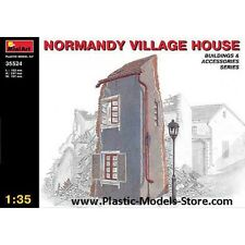 Miniart 35524 Normandy Villadge House Building for Diorama 1/35 Scale Plastic