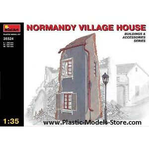 Miniart 35524 - 1/35 Normandy Villadge House Building for Diorama Plastic Model